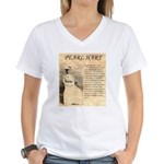 Pearl Hart Women's V-Neck T-Shirt