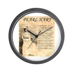 Pearl Hart Wall Clock