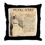 Pearl Hart Throw Pillow