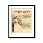 Pearl Hart Framed Panel Print