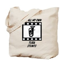 Tuba Stunts Tote Bag