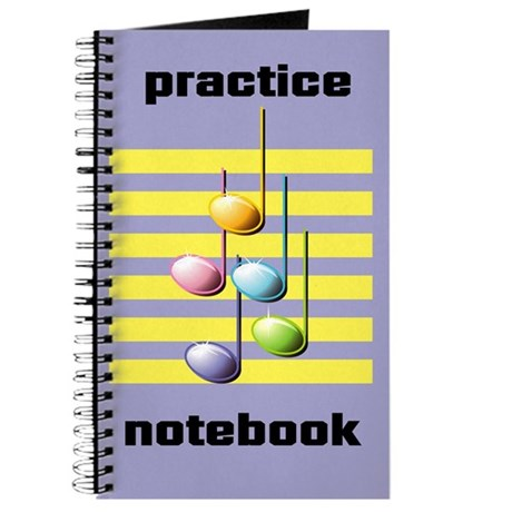 Music Practice Notebok