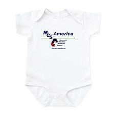 MCS America Logo Infant Bodysuit