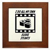 Sushi Stunts Framed Tile