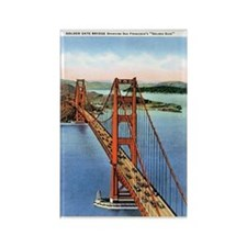 Golden Gate CA Rectangle Magnet
