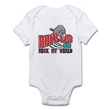 Rhinos Rock My World Onesie