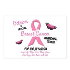 Breast Cancer Awareness Month 2.1 Postcards (Packa