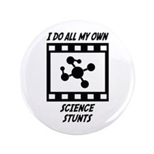 "Science Stunts 3.5"" Button (100 pack)"