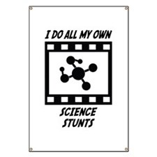 Science Stunts Banner
