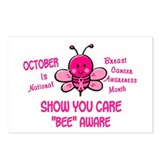 Breast Cancer Awareness Month 4.1 Postcards (Packa
