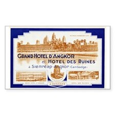 Grand Hotel d'Angkor Luggage Sticker (UnTrimmed)