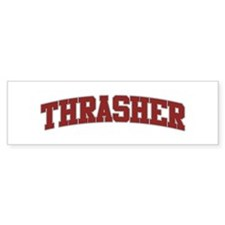 THRASHER Design Bumper Bumper Sticker