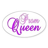 "Prom Queen ""Label Me"" Oval Stickers"