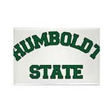 Humboldt State Rectangle Magnet