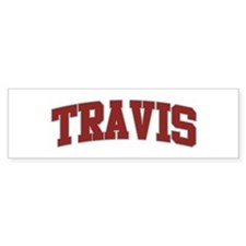 TRAVIS Design Bumper Bumper Sticker