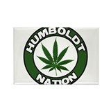 Humboldt Pot Nation Rectangle Magnet