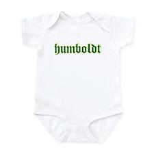Humboldt Green Script Onesie