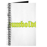 Humboldt Gold Script Journal