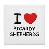 I love PICARDY SHEPHERDS Tile Coaster