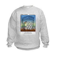 #37 Unknown ancestor Kids Sweatshirt