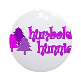 Humboldt Hunnie Ornament (Round)