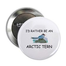 "I'd Rather Be An Arctic Tern 2.25"" Button (10 pack"