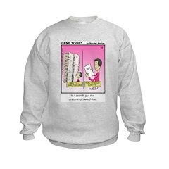 #52 Uncommon word Kids Sweatshirt