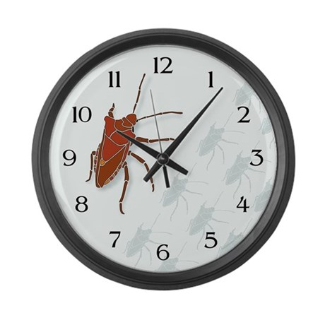 Big Stink Bug Large Wall Clock