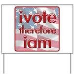 Think, Vote, Be with this Yard Sign