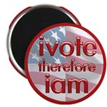 Think, Vote, Be with this Magnet
