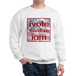 Think, Vote, Be with this Sweatshirt