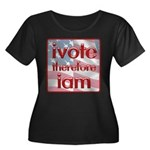 Think, Vote, Be with this Women's Plus Size Scoop