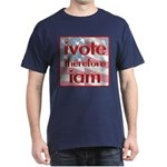 Think, Vote, Be with this Dark T-Shirt