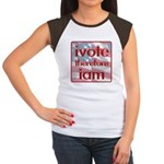 Think, Vote, Be with this Women's Cap Sleeve T-Shi