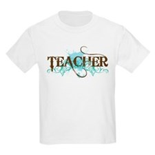 Cool Blue TEACHER T-Shirt