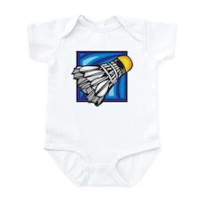 Badminton Shuttlecock Infant Bodysuit