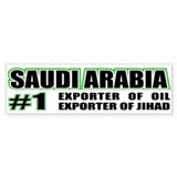 Saudi Arabia --#1 Bumper Bumper Sticker