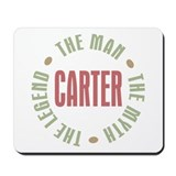 Carter Man Myth Legend Mousepad