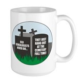 Never Die Coffee Mug
