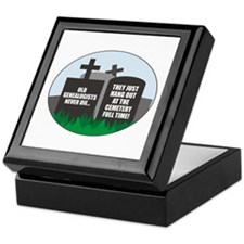 Never Die Keepsake Box