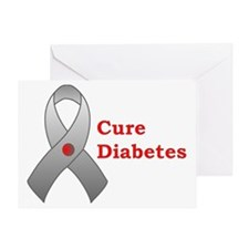 Cure Diabetes Greeting Card