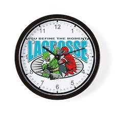 Lacross Moment Wall Clock