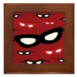 Villain Framed Tile