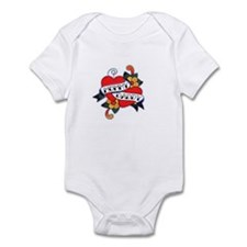 MOMMY DADDY TATTOO Infant Bodysuit