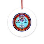 Mamaroneck Harbor Police Ornament (Round)