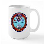 Mamaroneck Harbor Police Large Mug