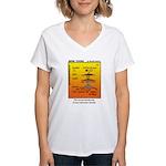 #69 Never sinned Women's V-Neck T-Shirt
