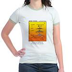 #69 Never sinned Jr. Ringer T-Shirt