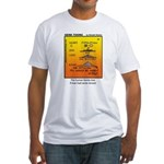 #69 Never sinned Fitted T-Shirt