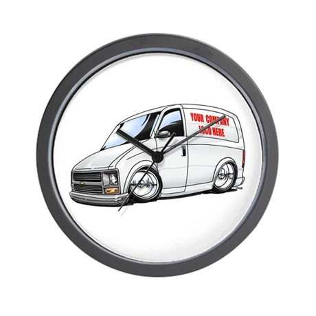 Commercial Van Wall Clock